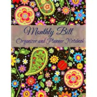 Monthly Bill Organizer and Planner Notebook: Volume 31 (Extra Lare Budget Planners with a Calendar)
