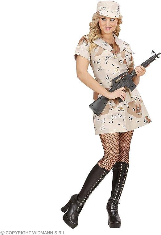 WIDMANN Disfraz de Soldado tormenta del desierto chica Adulto ...