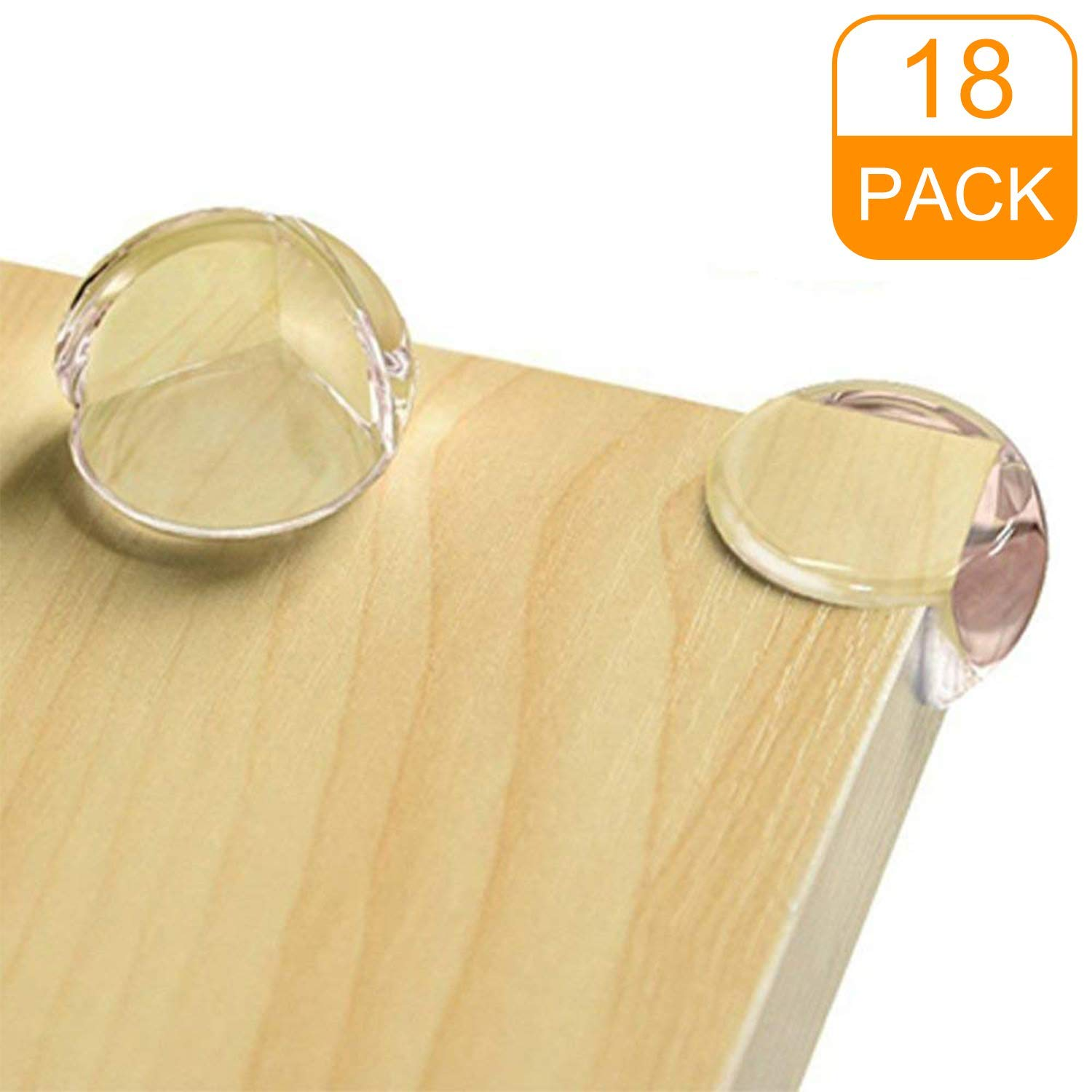 CalMyotis Corner Protectors for Kids Keep Baby Safety 12 Packs Baby Proofing Corners with Strong Adhesive Tape Protectors for Furniture Against Sharp Corners