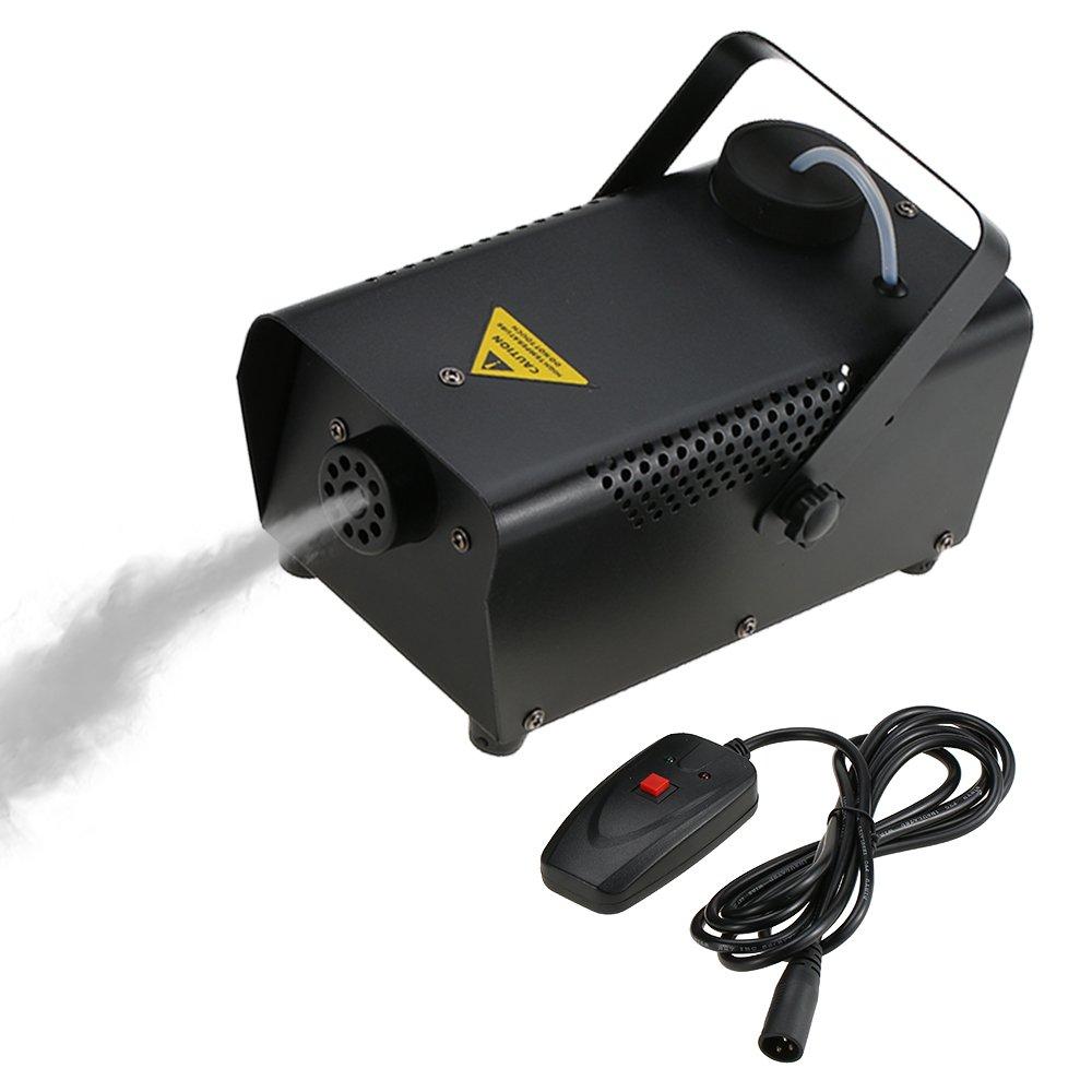 Tomshine Máquina de Niebla con Cable Control Remoto W Máquina del Humo