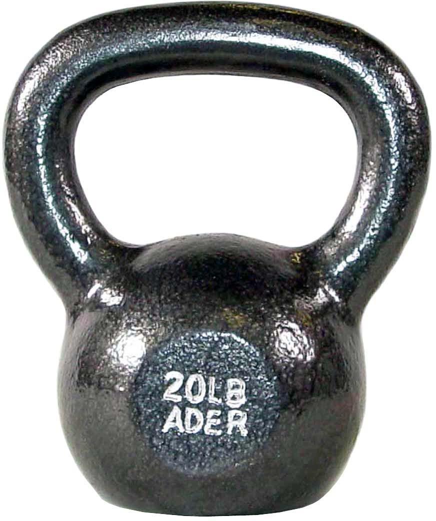 Ader Premier Kettlebell Set w/ Dvd- (10, 20, 30, 40, 50lb) by Ader Sporting Goods (Image #3)
