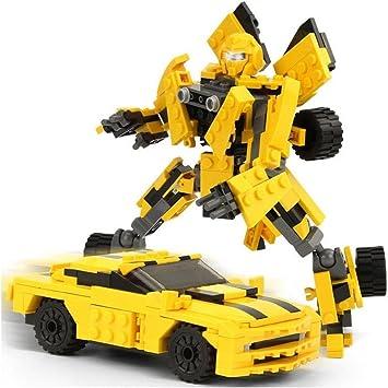 Kit de construcción de transformers. 225 piezas para armar el ...