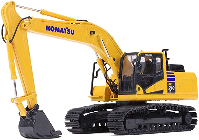 1//50 komatsu pc200 pc210 pc220 construction diecast excavator model no box
