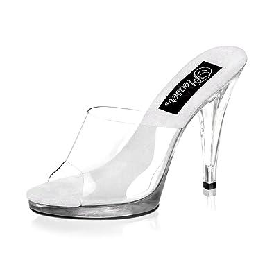 1efa87beb021c7 Summitfashions 4 1 2 Inch Cute Bridal Shoe Womens Sexy High Heel Shoes Slip  On