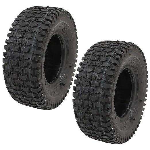 2 Neumáticos Kenda 11 x 4.00 - 5 Césped Rider Tread 2 capas ...
