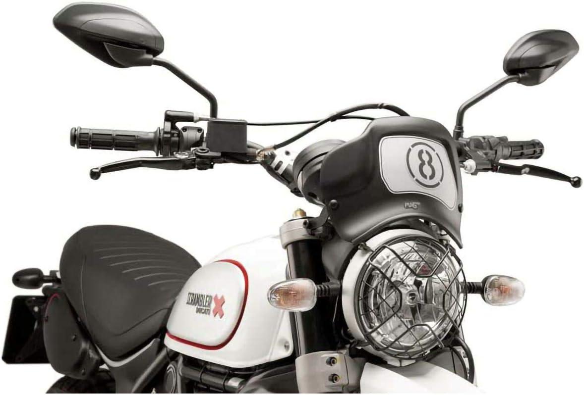 Front Plate Ducati Scrambler Desert SLED//CAF/É Racer 17-18 C//MATT Black