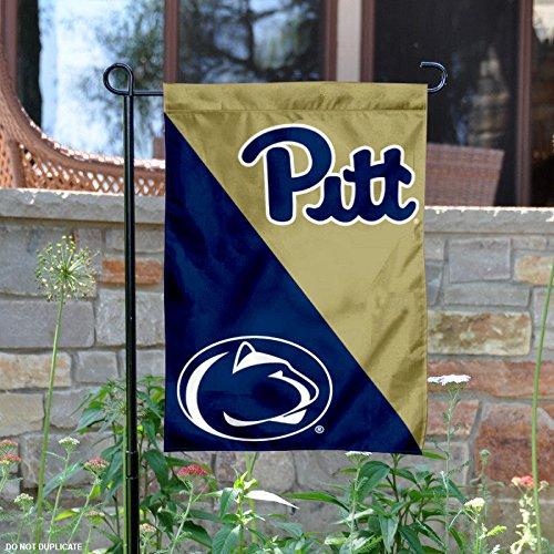 Pitt vs. Penn State House Divided Garden Flag and Banner State House Divided