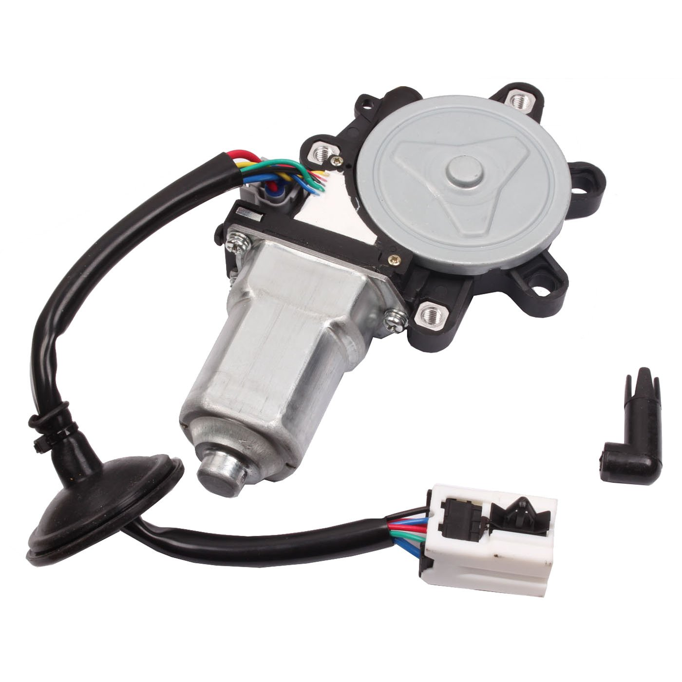 BETOOLL Window Lift Motor Front Left Driver-Side Compatible With 2003 2004 2005 2006 2007 2008 2009 Nissan 350Z / 2003-2007 Infiniti G35 Coupe (Replaces 80731-CD0