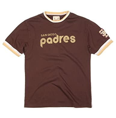 wholesale dealer 63685 08bf5 Red Jacket San Diego Padres Retro Jersey Replica T-Shirt