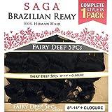 Saga Brazilian Remy Hair Weave - FAIRY DEEP 5PCS (SOP27GD30)