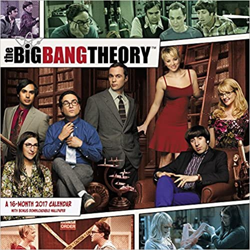 The big bang theory wall calendar (2017) by day dream (2016 07 01)
