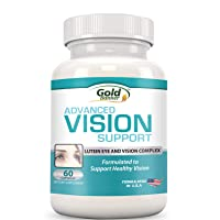 Advanced Vision Support - Lutein Eye & Vision Complex with Lutein, Bilberry, Zinc...