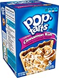 Pop-Tarts Breakfast Toaster Pastries, Frosted Cinnamon Roll Flavored, 14.1 oz, 8 count(Pack of 12)