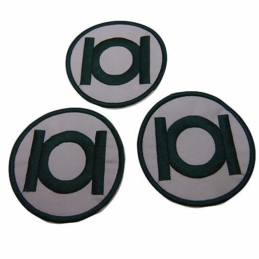 Amazon The Green Lantern Series Symbol Patch Set Of 3 Clothing