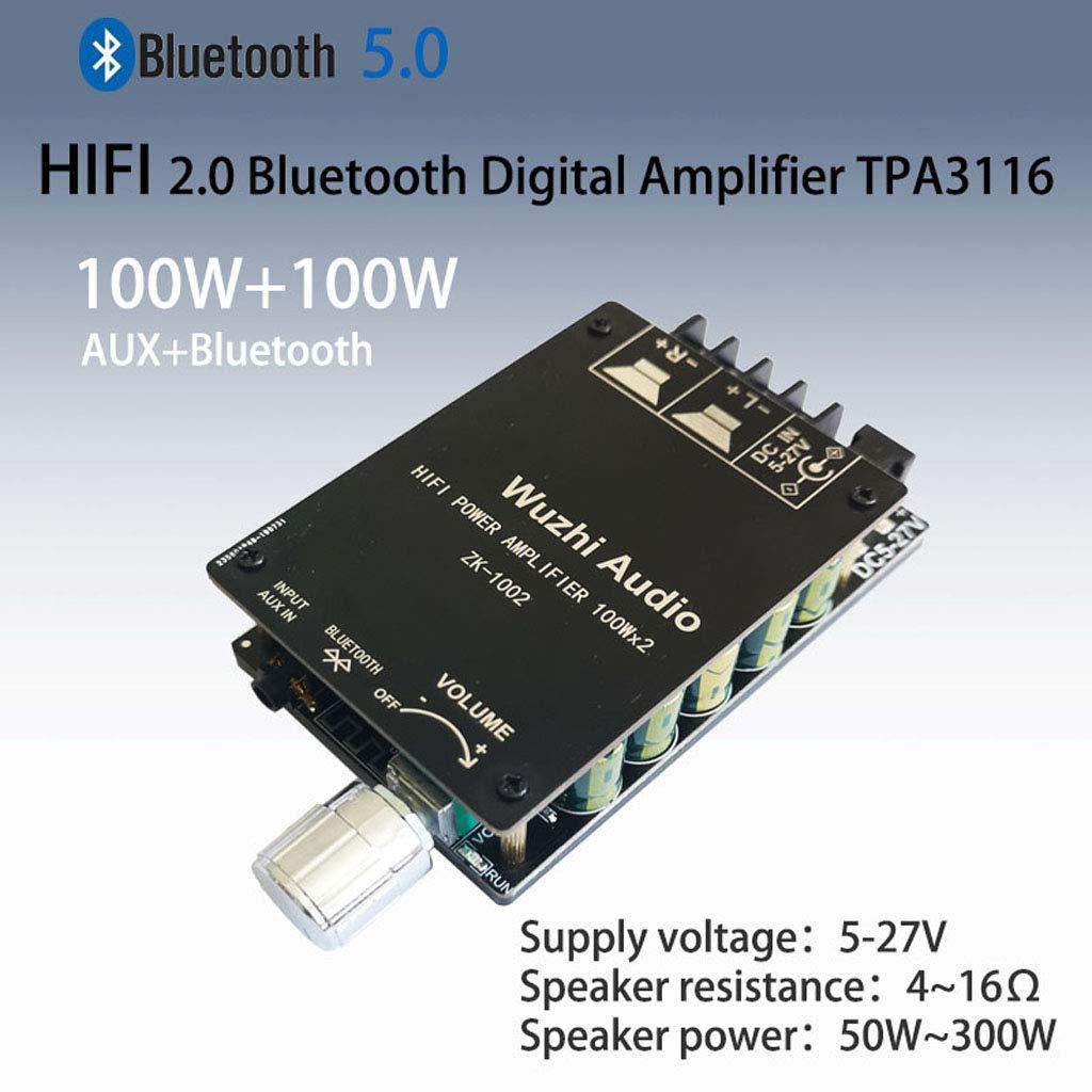 ZK-1002 HIFI TPA3116 Bluetooth 5.0 Hochleistung Digital VerstäRker Stereo KaD2Q4