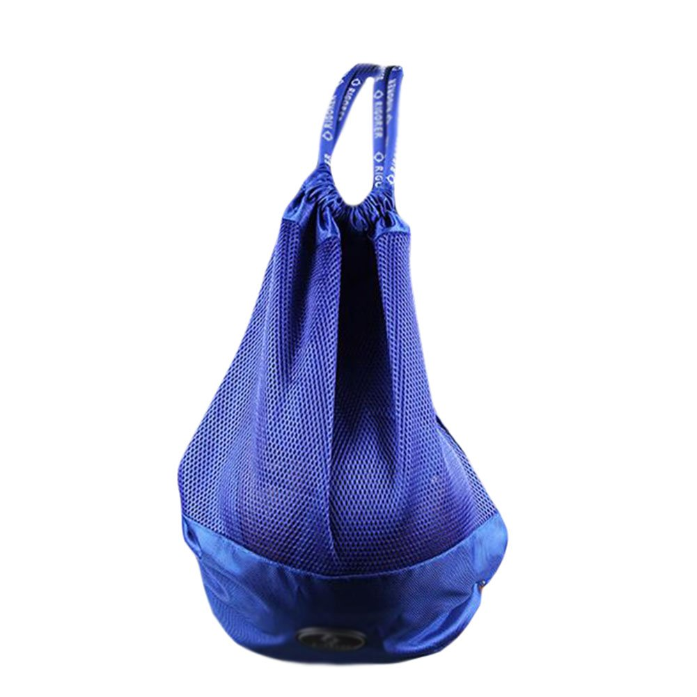 George Jimmy Basketball Soccer Volleyball Pocket Training Bag Outdoor Sport Organizer Backpack-Blue