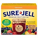 Sure-Jell Premium Fruit Pectin, 1.75 Ounce Box (Pack of 4)