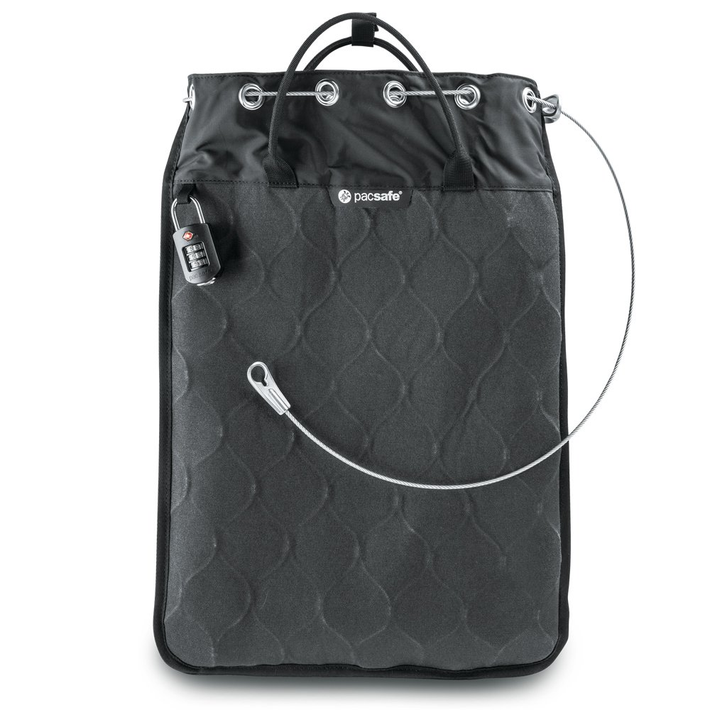 Pacsafe Travelsafe 12L GII Portable Safe, Charcoal by Pacsafe (Image #5)