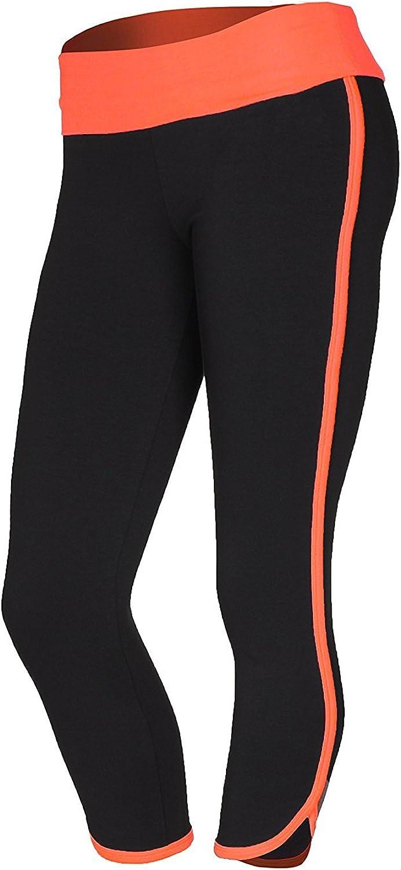 Emmalise Junior Womens Retro Vintage Exercise Yoga Bottom Pants