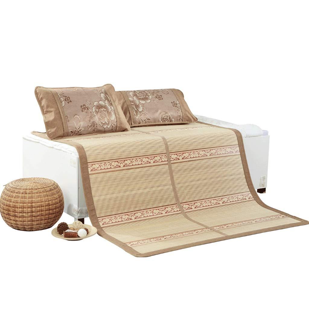 DUAN GUO FENG DGF Bambusmatte Doppelseitige Klappmatte Bambus Material Komfortabel Und Atmungsaktiv