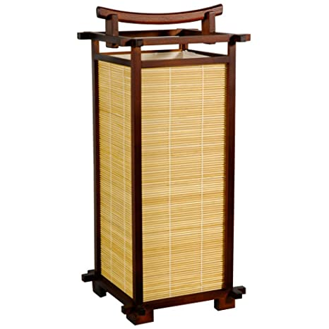 nara solid oak hidden home. Plain Oak Oriental Furniture LMPNARA Nara Lamp Color Dark Walnut To Solid Oak Hidden Home M
