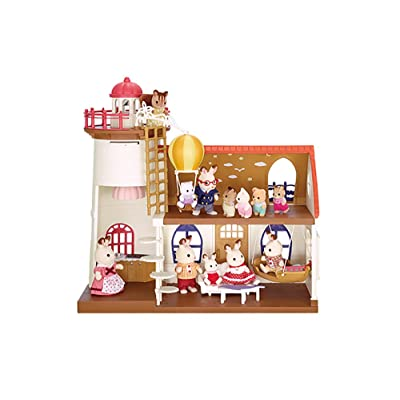 Calico Critters Starry Point Lighthouse: Toys & Games