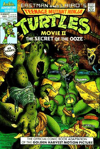 Teenage Mutant Ninja Turtles Movie II the Secret of the Ooze ...