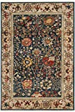 "Safavieh Kashan Collection KSN303G Traditional Blue and Tan Area Rug (3'3″ x 4'10"") Review"