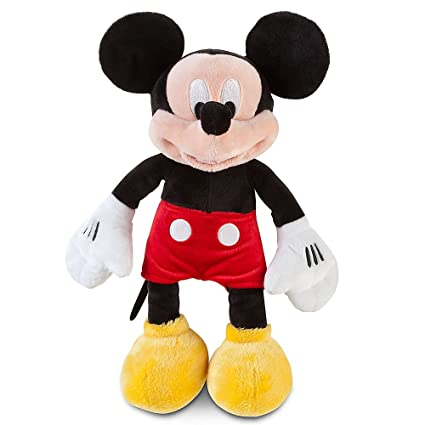 fc0617ea126 Amazon.com  Disney Mickey Mouse Plush - Small - 12 Inch  Toys   Games