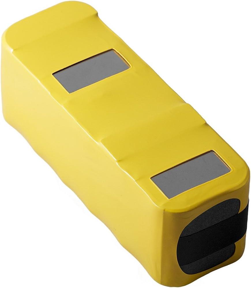 Infinuvo Authentic Battery for CleanMate 365 QQ1, QQ2 Basic, QQ-2 Green, QQ-2 White, QQ2L, QQ-2L, QQ-2 LT, QQ2 Plus and QQ200 Series Robotic Vacuums