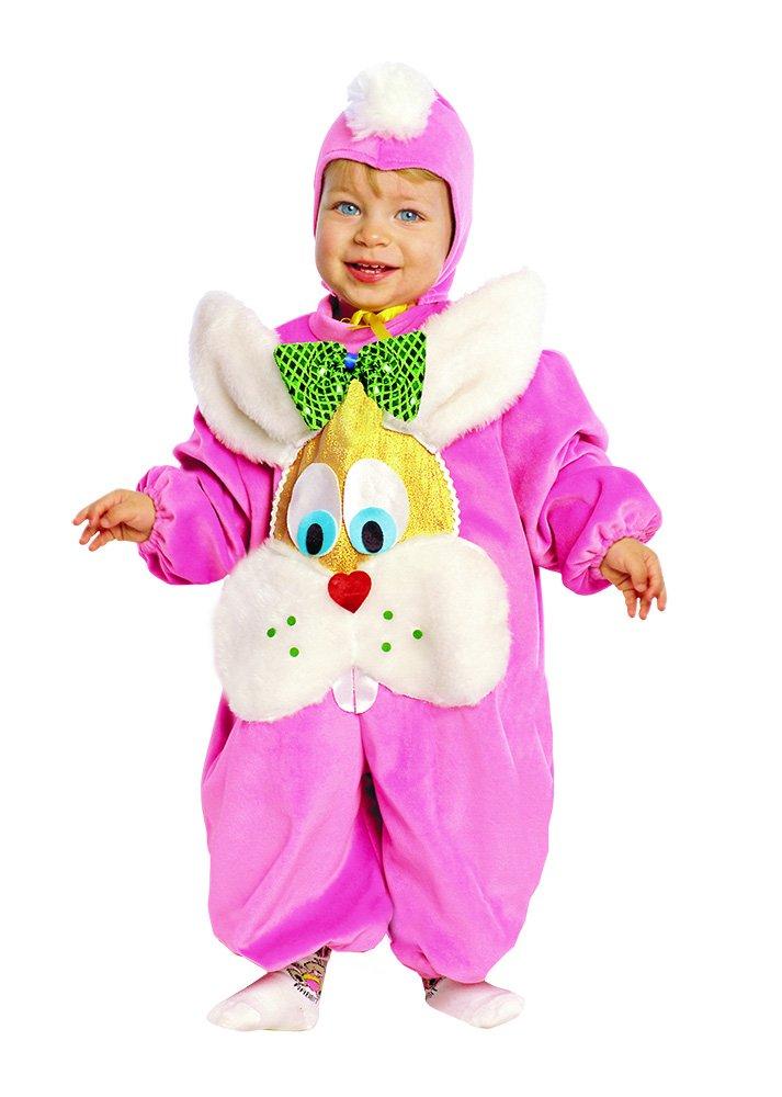 Costume bebe Conejito rosa 3 - De 2 a 3 años rosa