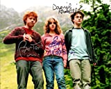 Harry Potter with Daniel Radcliffe & Emma Watson Cast Signed Autographed 8 X 10 Reprint Photo - Mint Condition