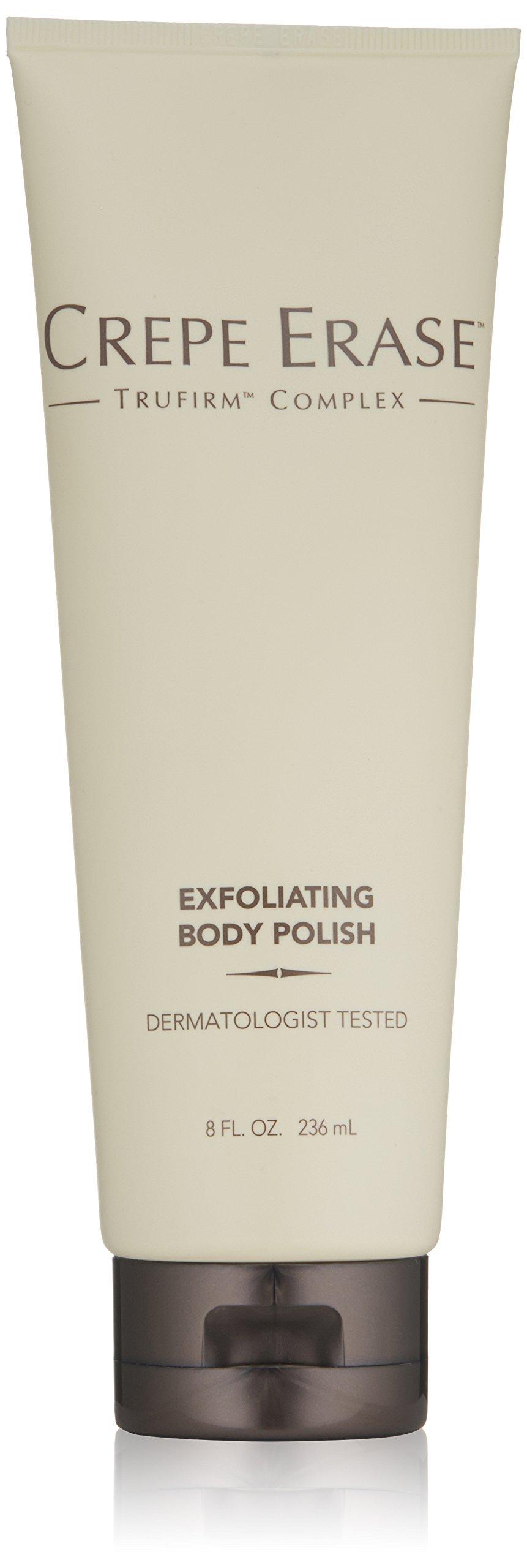 Crepe Erase – Exfoliating Body Polish – Anti-Aging Body Scrub – AHA Skin Smoothing Exfoliator and TruFirm Complex – 8 Fluid Ounces – CS.0052