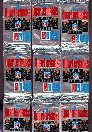 1991-dominos-pizza-quarterbacks-upper-deck-15-pack-set-ud-challenge-quarterback