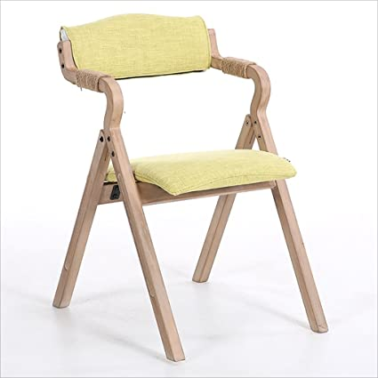 Delicieux Fold Up Chairs Home Simple Portable Solid Wood Folding Dining Chair, Simple  Folding Back Computer