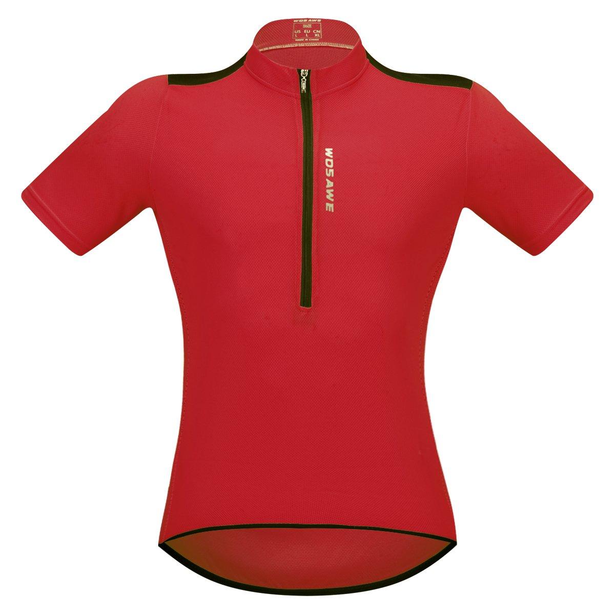 SunDay Pullover ciclismo uomo manica corta traspirante Top per bici, motociclisti, biciclette ASO