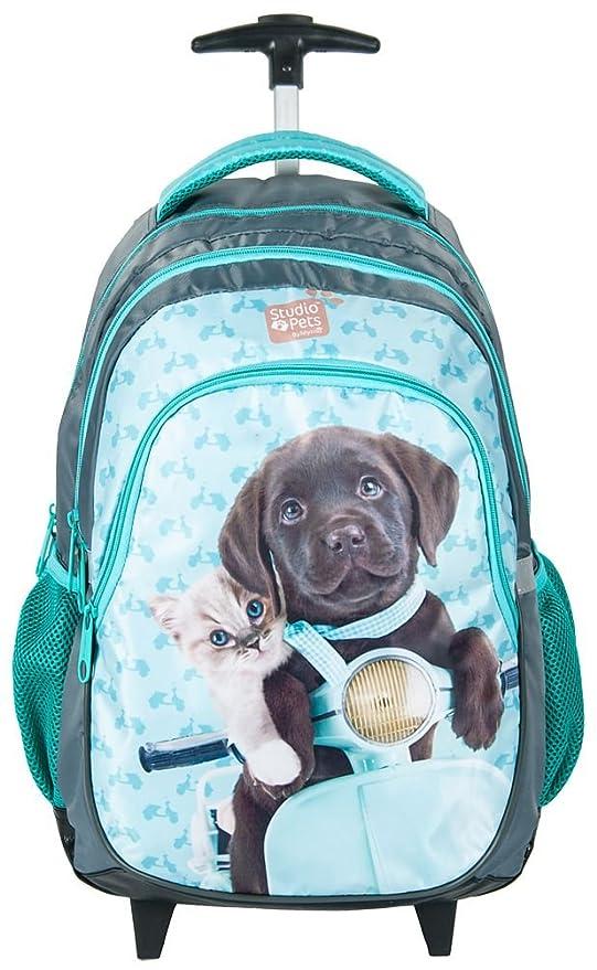 1a5ff22056 Zaino Trolley Scuola Studio Pets Cucciolo Labrador Vespa, Ragazza, Bambina