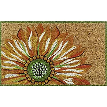 Amazon Com Toland Home Garden Sunflowers On Black 18 X