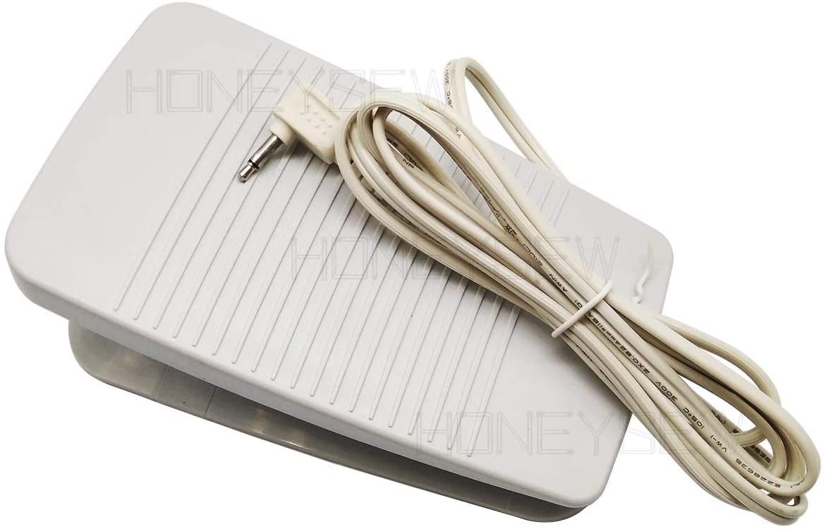 HONEYSEW Complete New Foot Pedal + Cord # FC-322 Works with BABYLOCK BL40A BLN Brother CS100