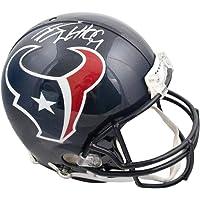 $499 » J.J. Watt Autographed Houston Texans Authentic Full-Size Football Helmet - JSA COA