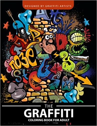 Amazon.com: The Graffiti coloring book for Adults ...