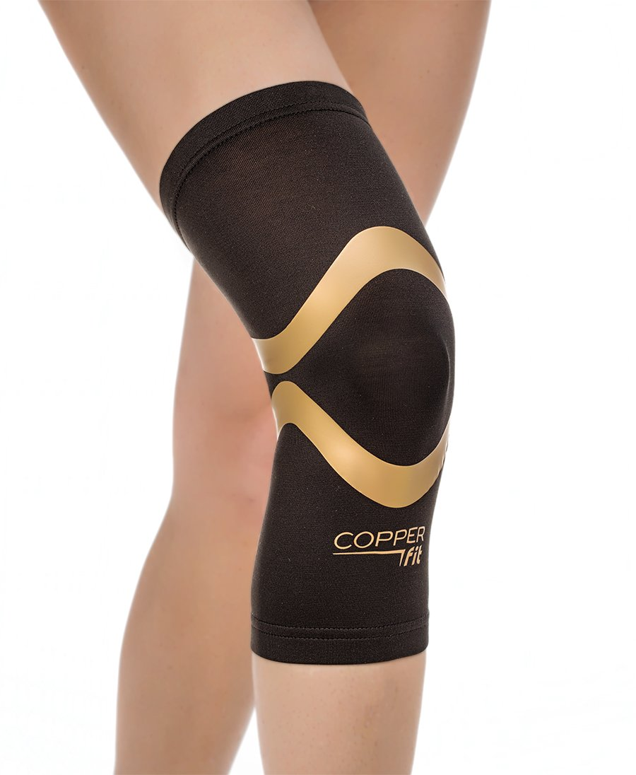 b6ba1469d4 Amazon.com: Copper Fit Pro Series Compression Knee Sleeve: Sports & Outdoors