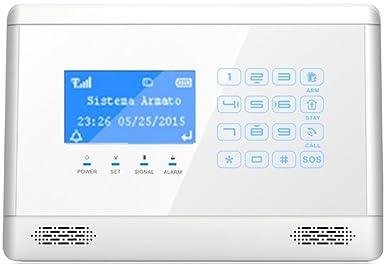ITALIAN ALARM Kit antirrobo alarma casa inalámbrica ...