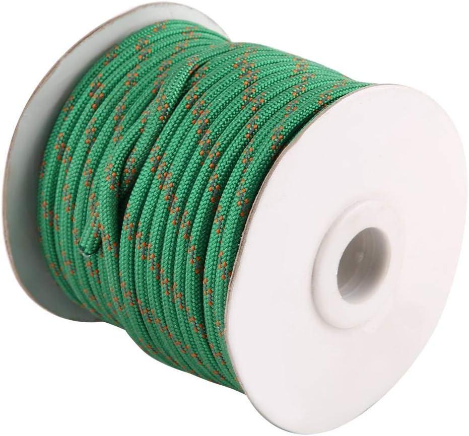 20 m Fdit Cuerda de Nailon para Tienda de campa/ña