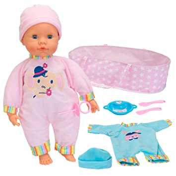 Amazon.es: Falca Baby Care Trousseau 38 CM. Muñeco de Estilo ...