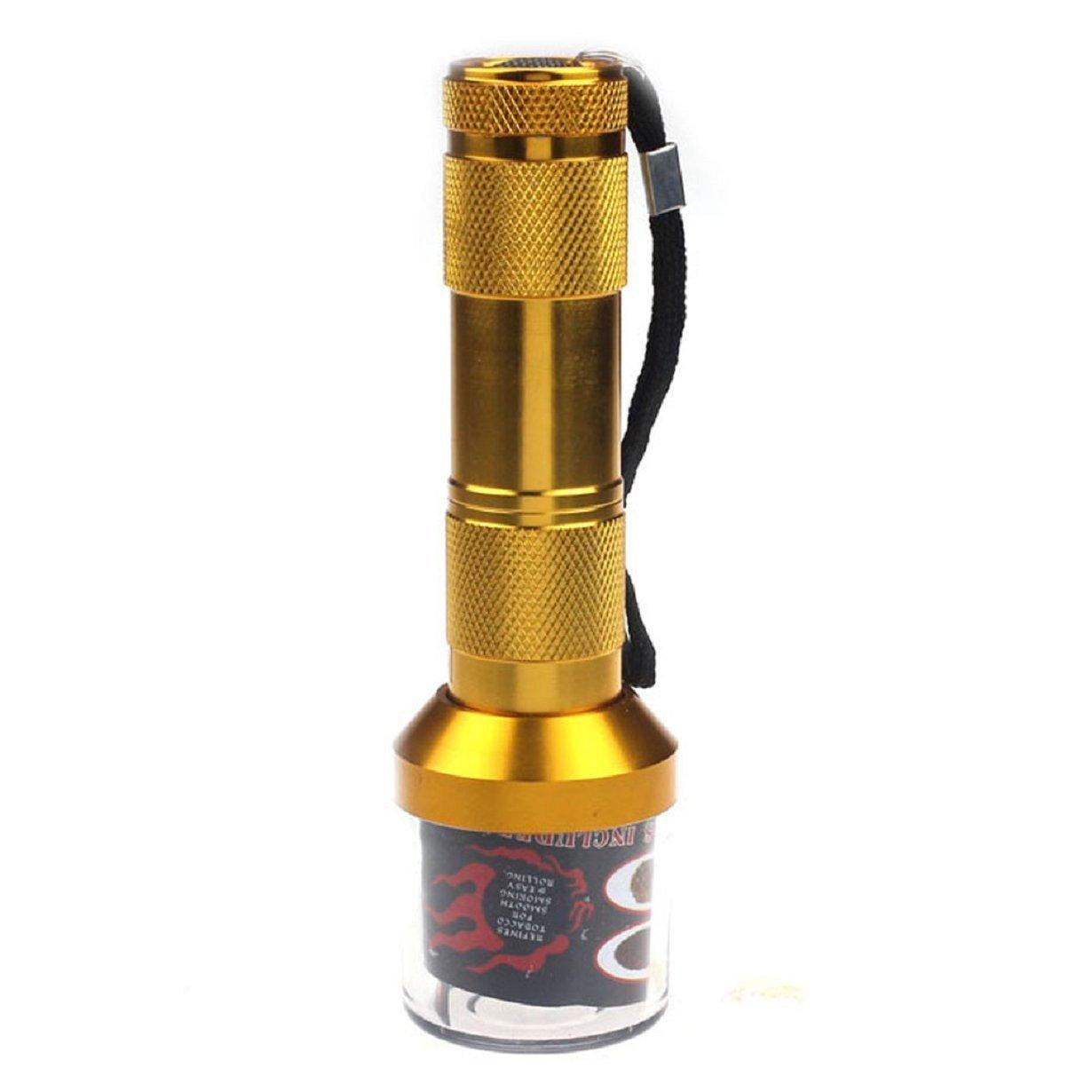 Honbay Zinc Alloy Electric Metal Grinder Herb Tabacco Crusher Grinder Cracker