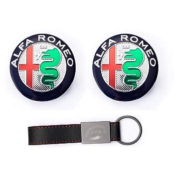 2X Set Emblema 74mm para Alfa Romeo 159 147 Brera Giulietta ...