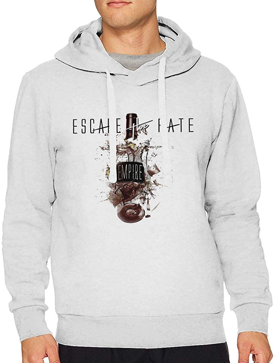 JohnMichelle Mens Hoodie Sweatshirt Mans Loose Hooded Sweater