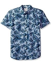 Lucky Brand Men's Short Sleeve Ballona Shirt