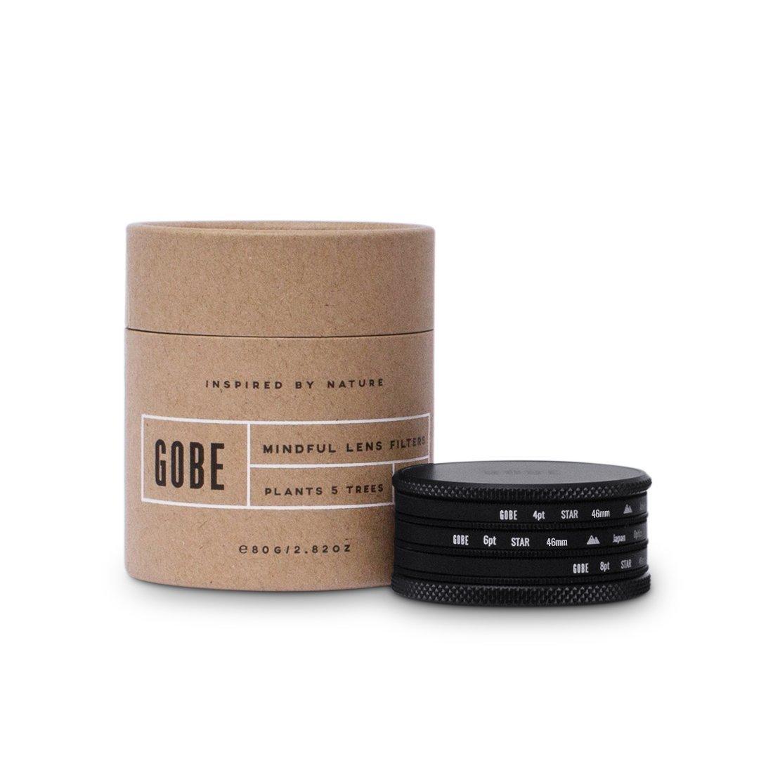 Gobe Star Filter Kit 46mm: 4 Points, 6 Points, 8 Points by Gobe